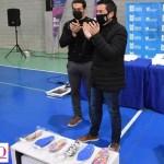 Leo Nardini junto a Sabrina Sienra homenajearon al fallecido deportista olímpico Braian Toledo y apoyaron a federados