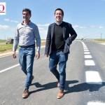 El ministro Leo Nardini encabezó la habilitación de la segunda calzada de la Ruta 11