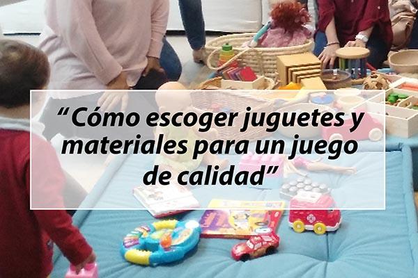 Cómo escoger juguetes para los niños y niñas