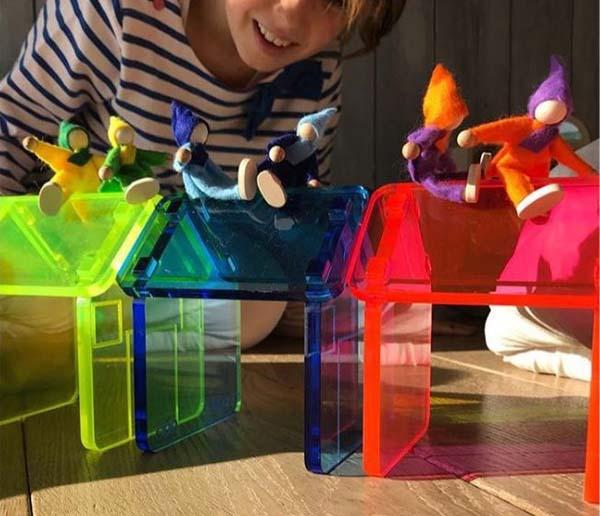 casitas translúcidas para jugar