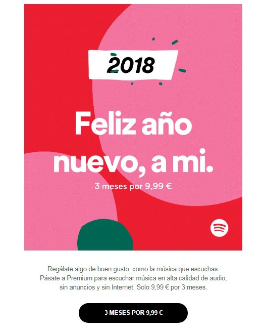 Newsletter Spotify