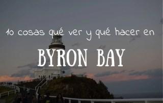 qué ver y qué hacer en Byron Bay