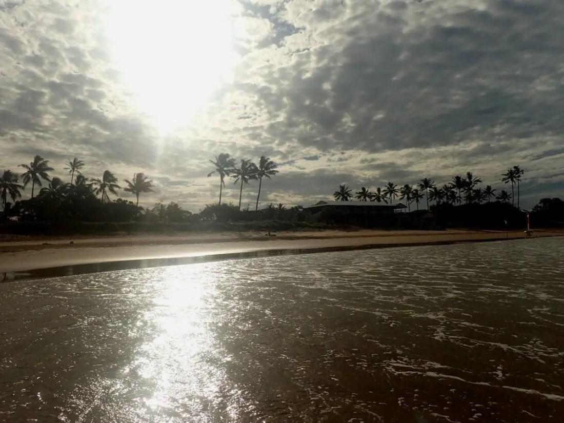 bargara beach. Ruta de Brisbane a Cairns