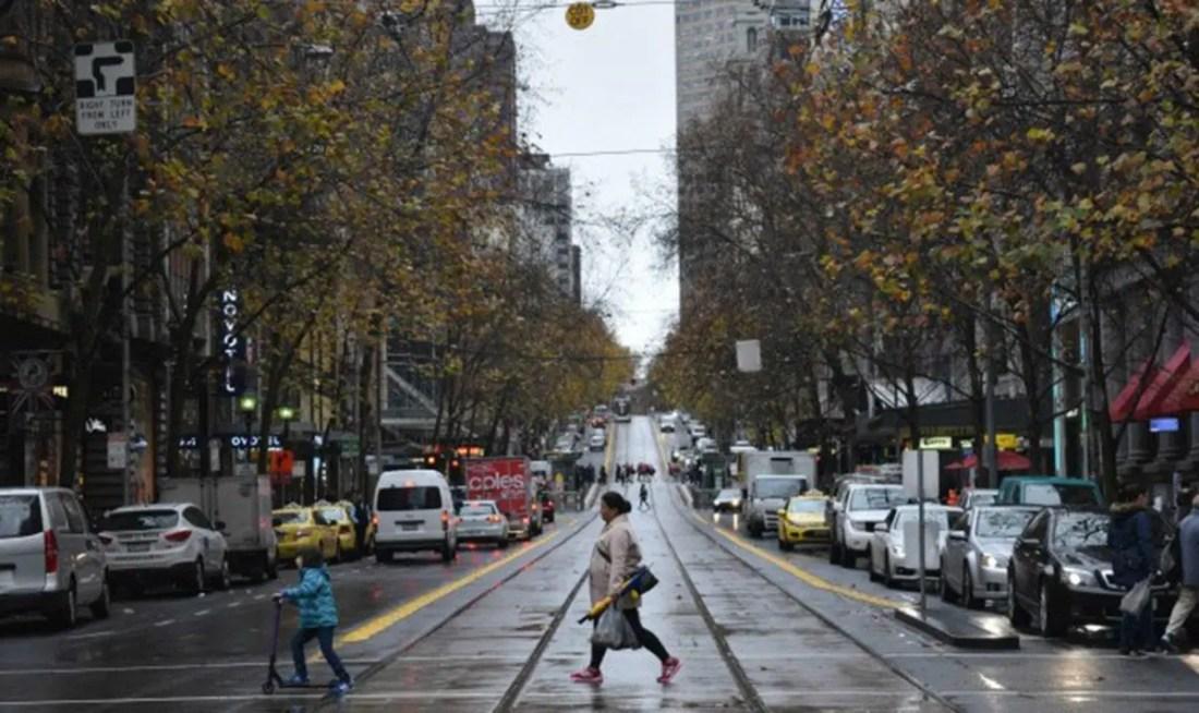 Pasear por Melbourne, Victoria, Australia