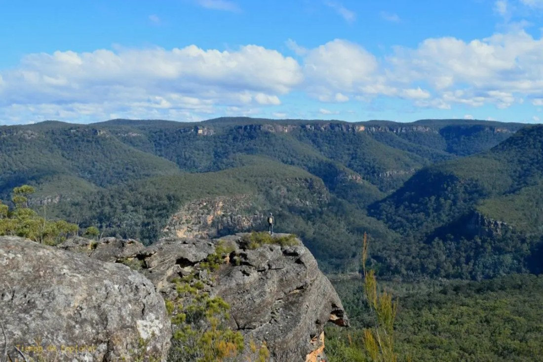 Three views track kangaroo valley, NSW, Viajar a Australia