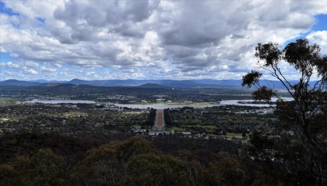 Monte Ainslie. Canberra turismo que hacer en Canberra