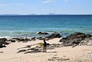 Gold Coast, playas y surf en Australia