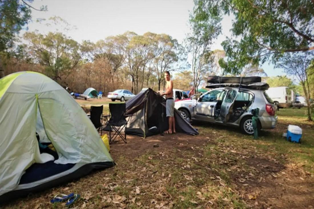 Killalea Camping, The Farm, NSW, Viajar a Australia