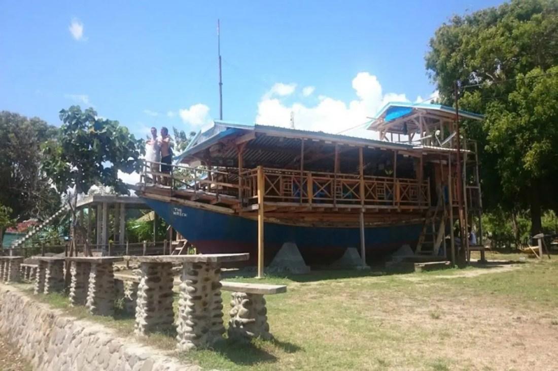 Restaurante The Wreck, Sumbawa, Indonesia, Sudeste Asiatico @tiempodexplorar 2016, I