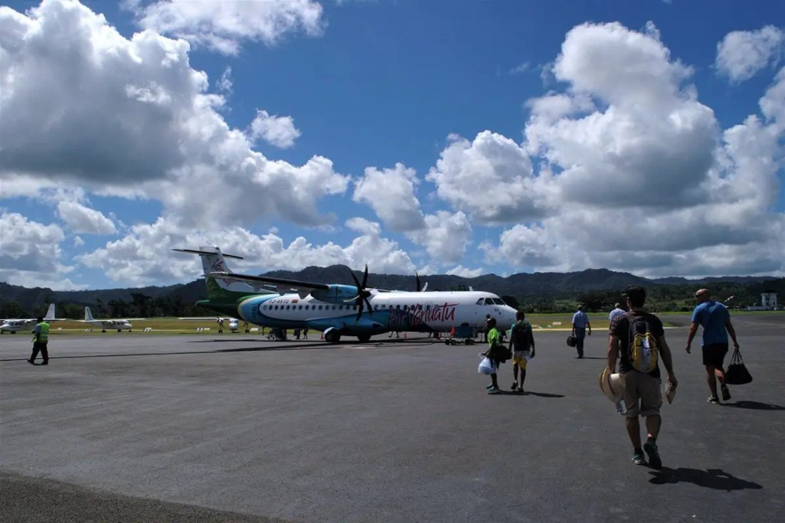 Avión Vanuatu