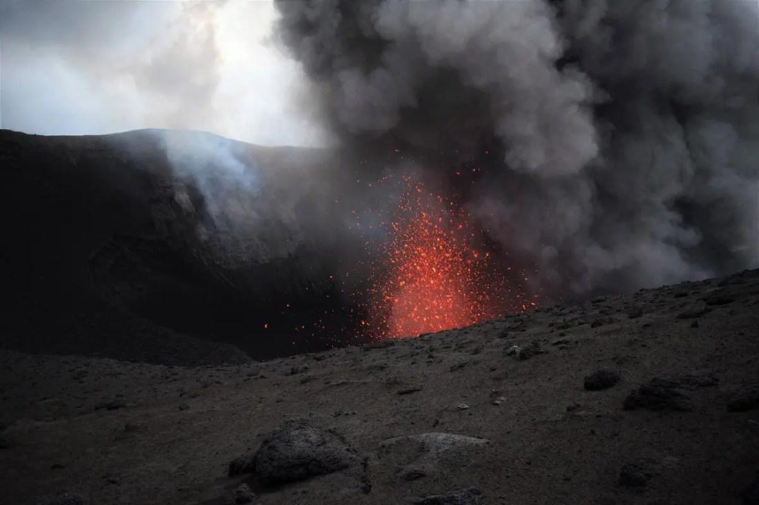 Volcán Mount Yasur, Isla de Tanna, Vanuatu