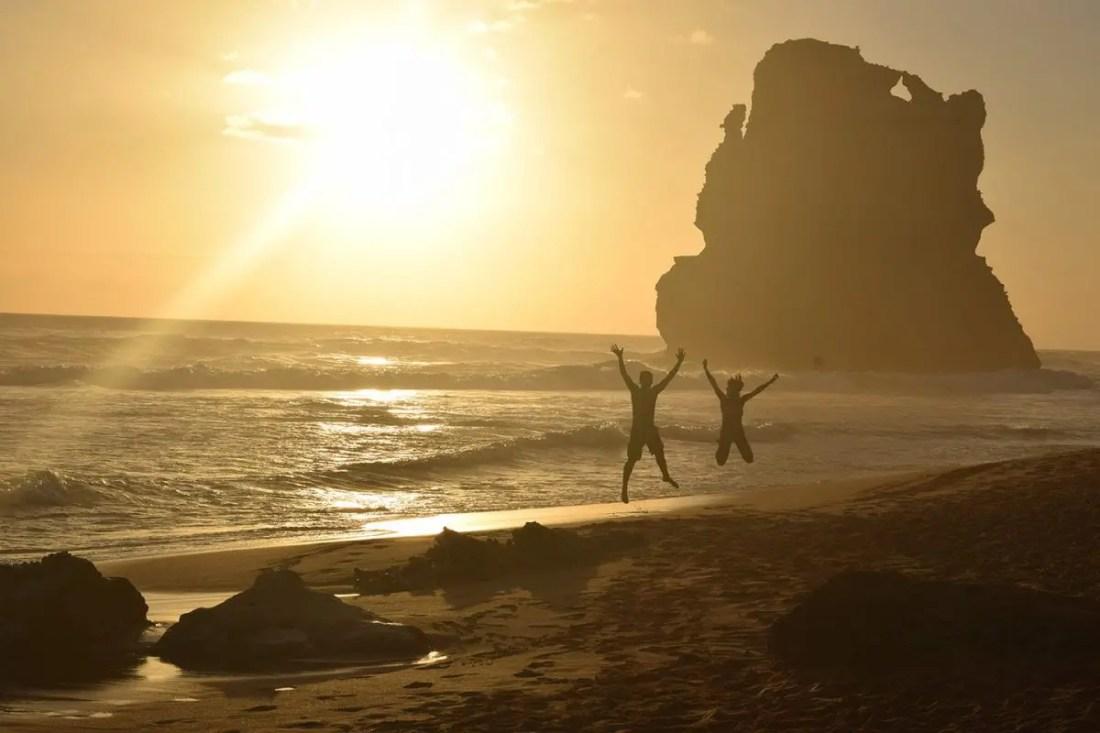 Great Ocean Road 12 apostoles playa atardecer