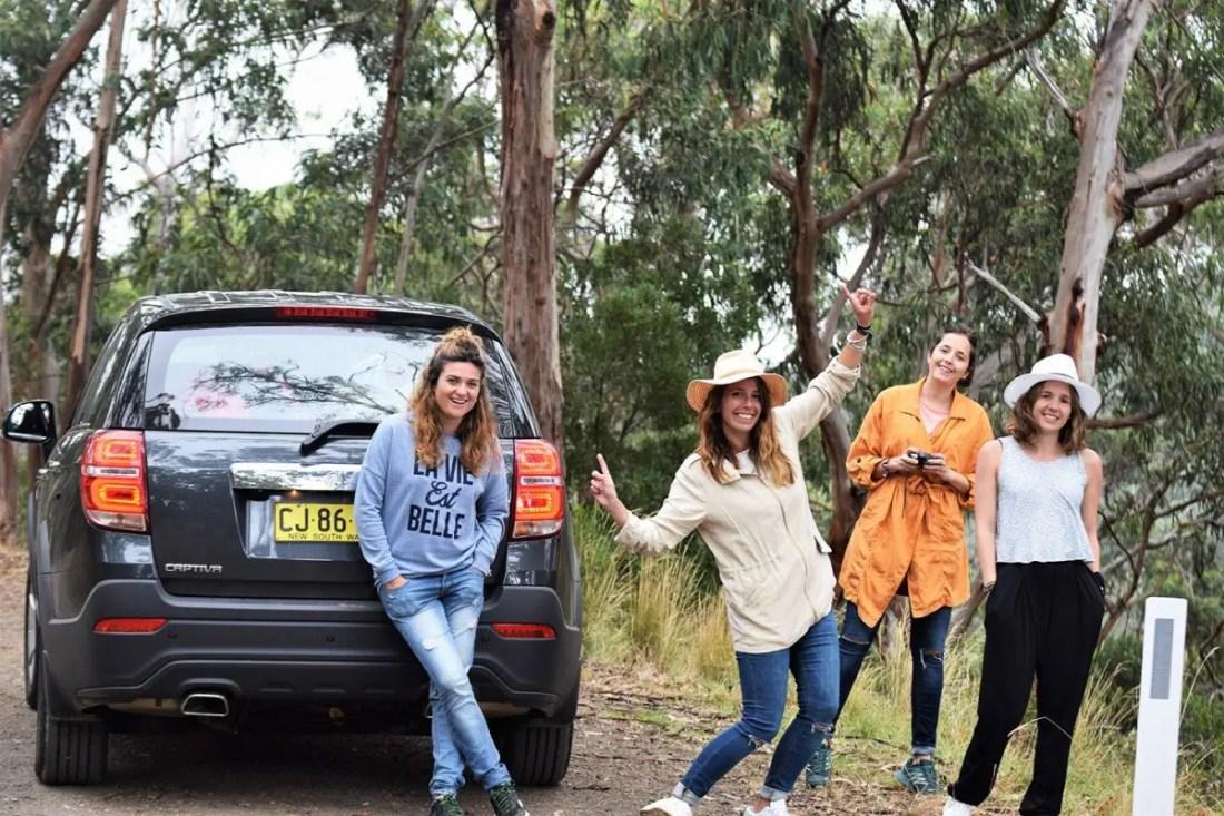 Ruta en coche Great Ocean Road Victoria Australia
