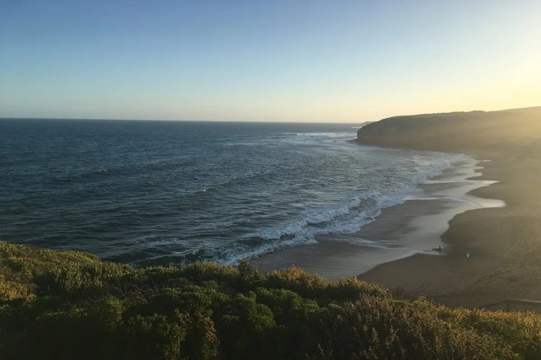bells beach great ocean road victoria australia