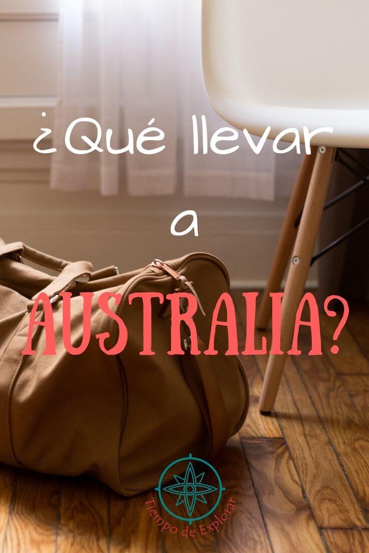que llevar a australia de turista o como estudiante