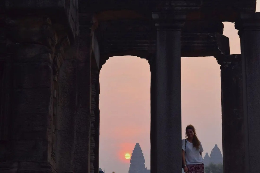 Amanecer Angkor Wat