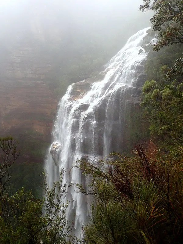 Wentworth Falls Blue Mountains NSW Australia