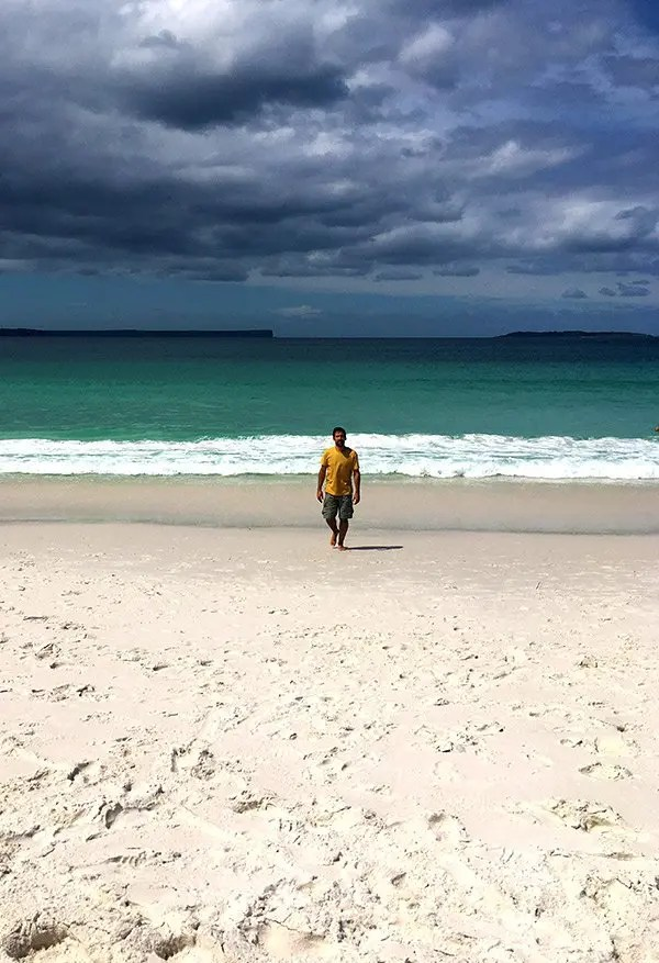 Hyams Beach, Jervis Bay, Ruta de Sydney a Melbourne, NSW Australia