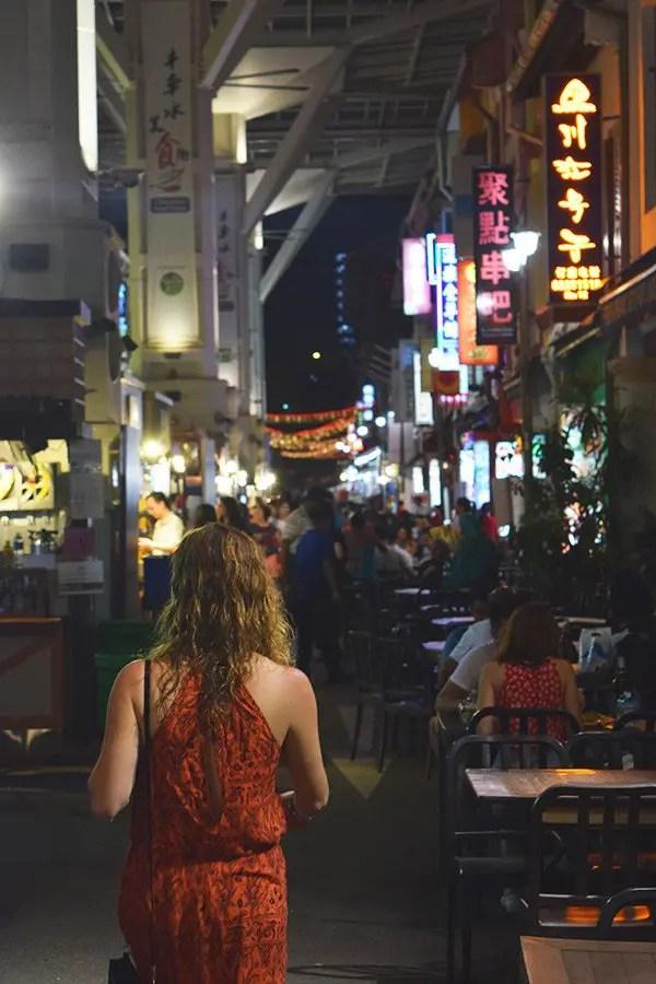 Chinatown Street Food. Singapur Turismo
