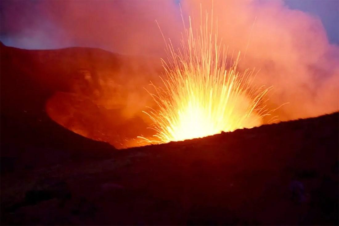 Volcán Mount Yasur Vanuatu