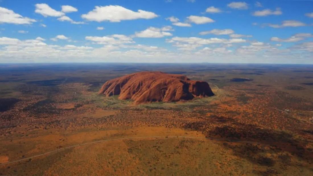 Uluru, Territorio del Norte, Ruta por Australia