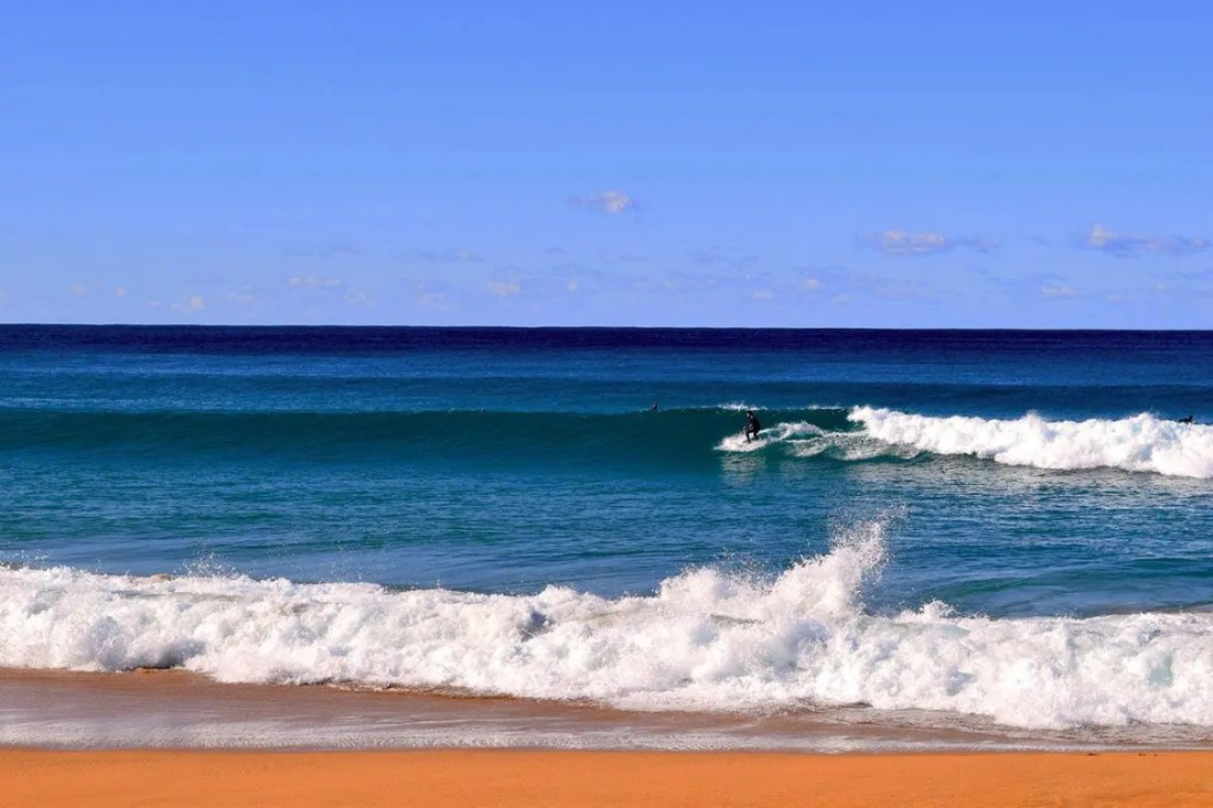 Palm Beach, uno de los mejores sitios dónde surfear en Australia