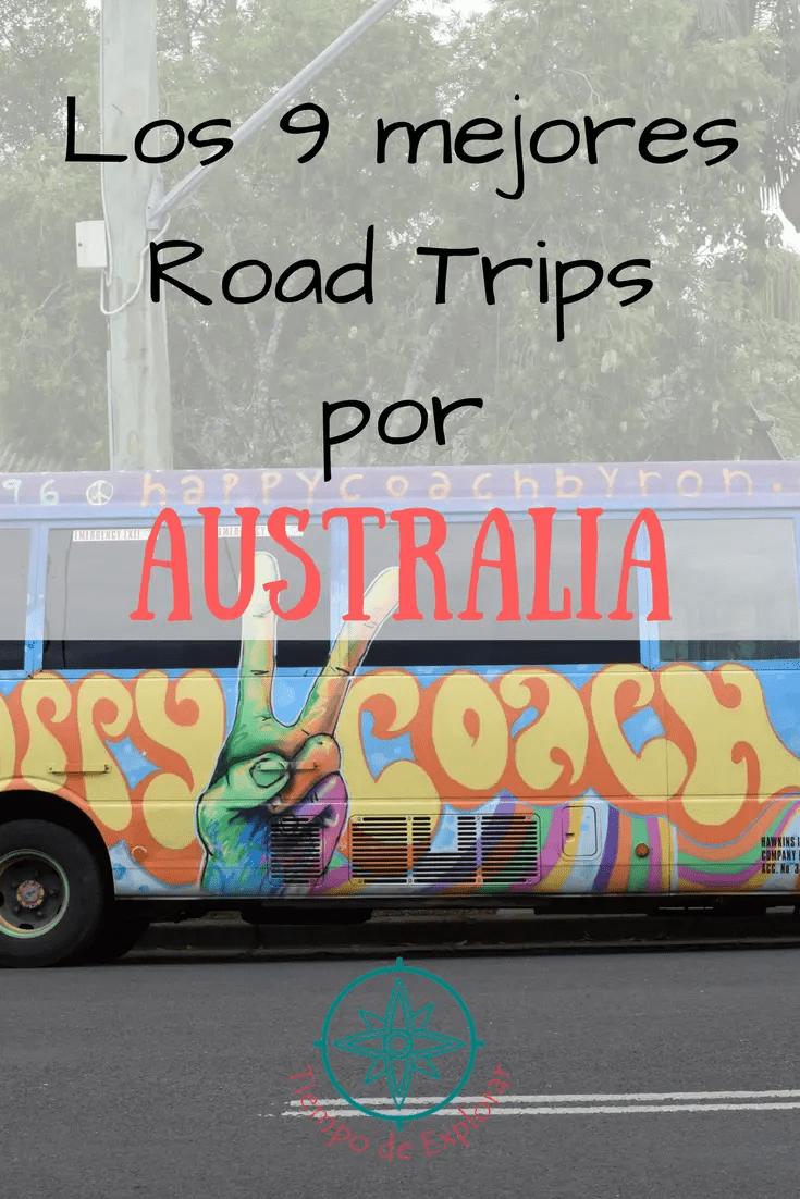 mejores rutas para recorrer Austalia en motorhome o en coche
