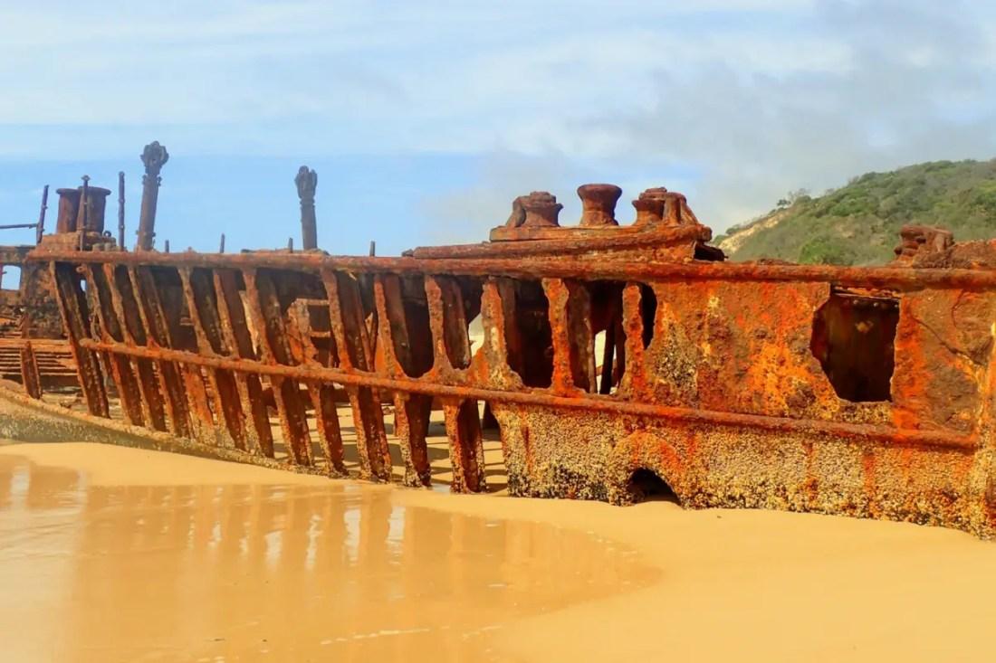 Fraser Island. Ruta de Brisbane a Cairns. Australia