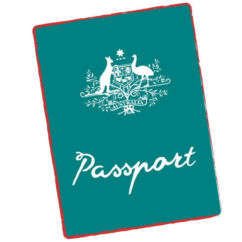 Pasaporte. Requisitos para viajar a Australia