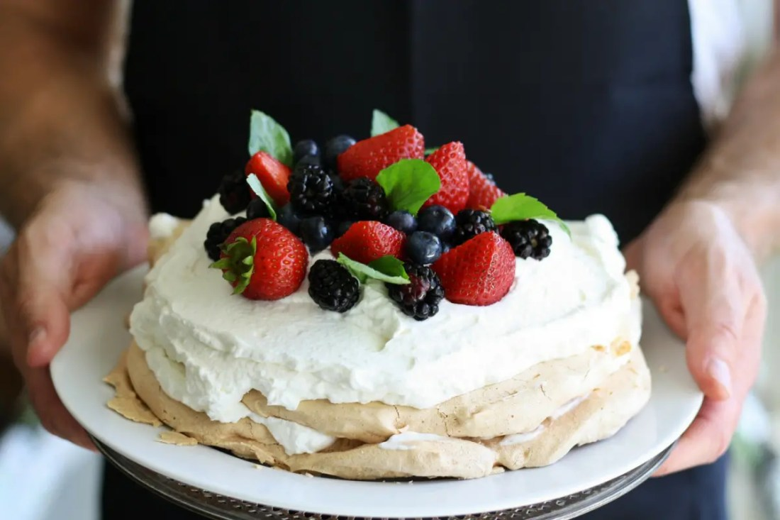 pavlova gastronomia australia