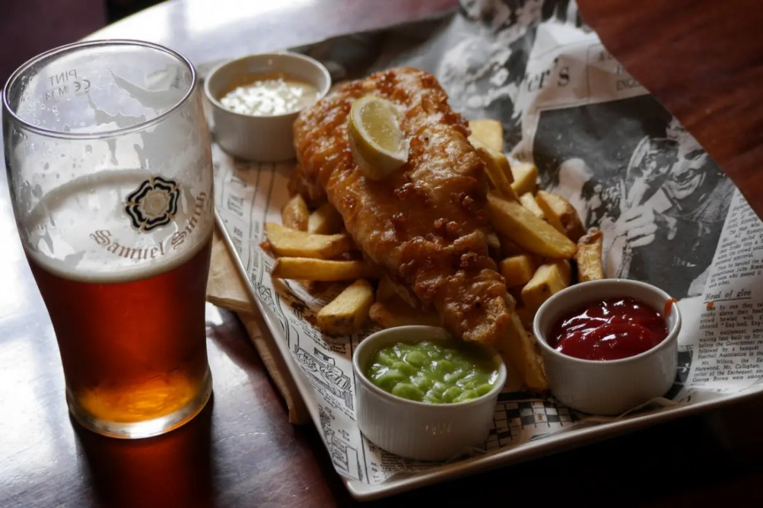 fish and chips comida tipica de australia