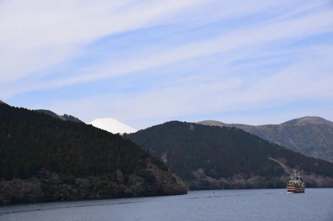 Lago Ashi, Hakone en Japón