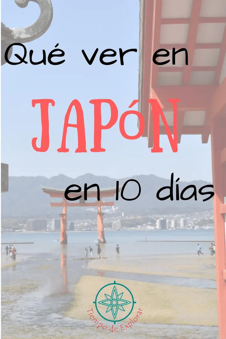 Pinterest qué ver en Japón en 10 días