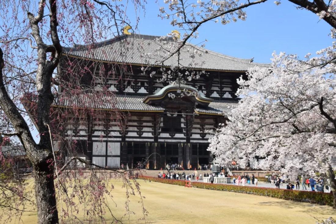 Templo de Todaiji en Nara, Japon