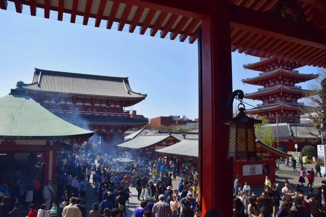 Templo de Asakusa enTokio, Japón