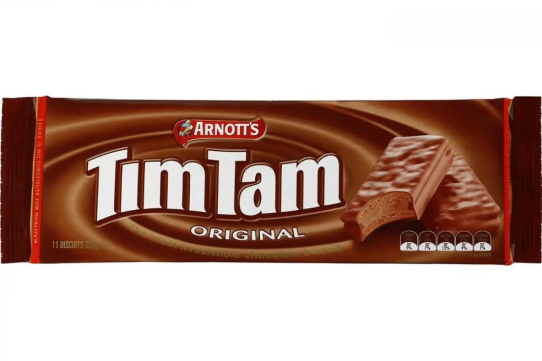 tim-tam productor típicos de Australia