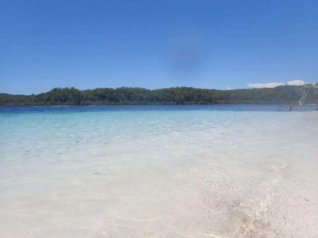 lago Mckenzie que ver Fraser Island Australia