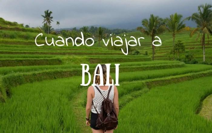 cuando es mejor viajar a Bali
