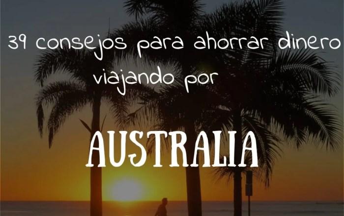 Como viajar por Australia barato