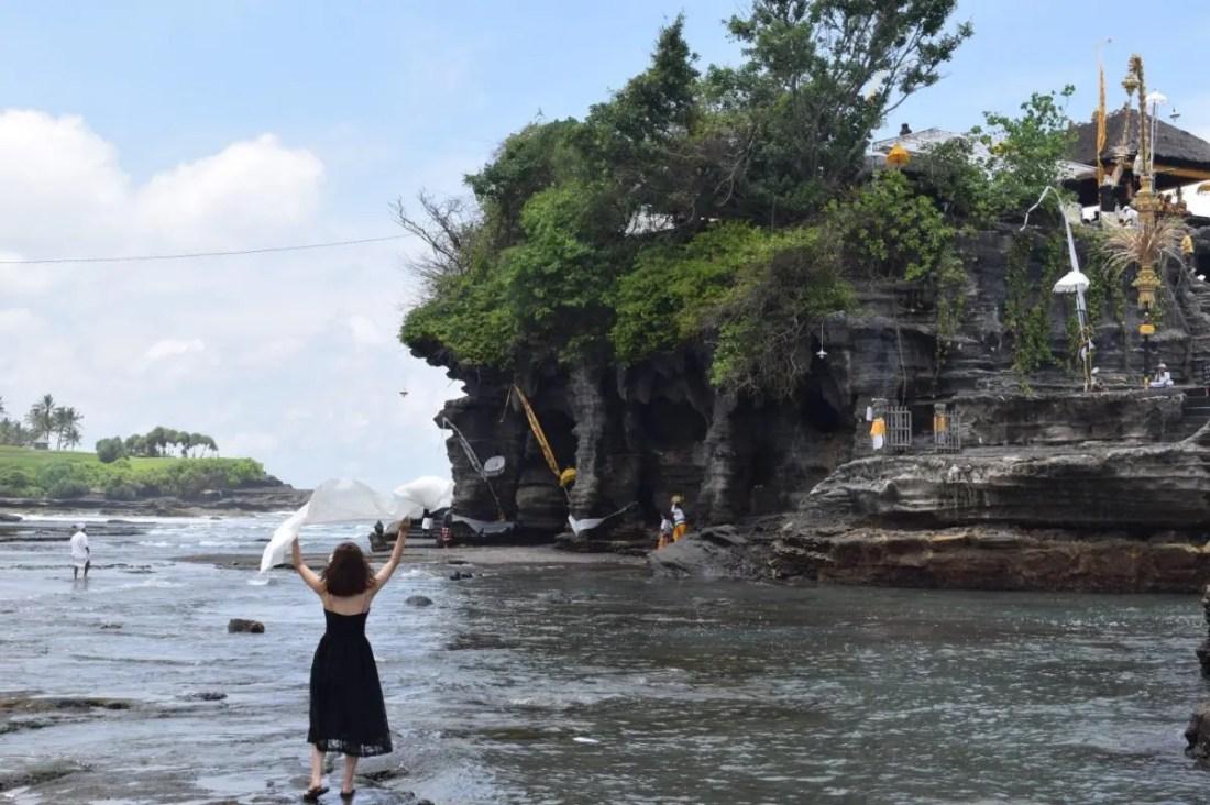 Templo Tanah Lot ruta por bali 10 dias