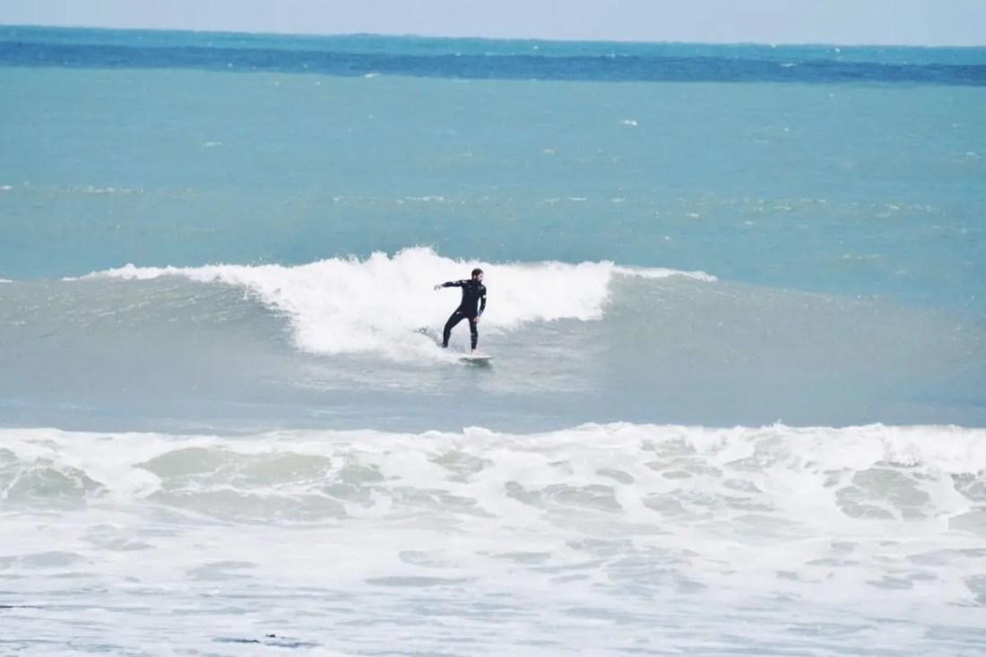 Raglan surf Isla Norte de Nueva Zelanda