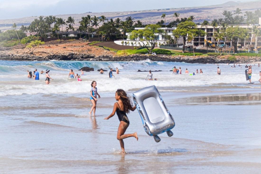 Body en Hapuna Beach que hacer en Big Island Hawaii