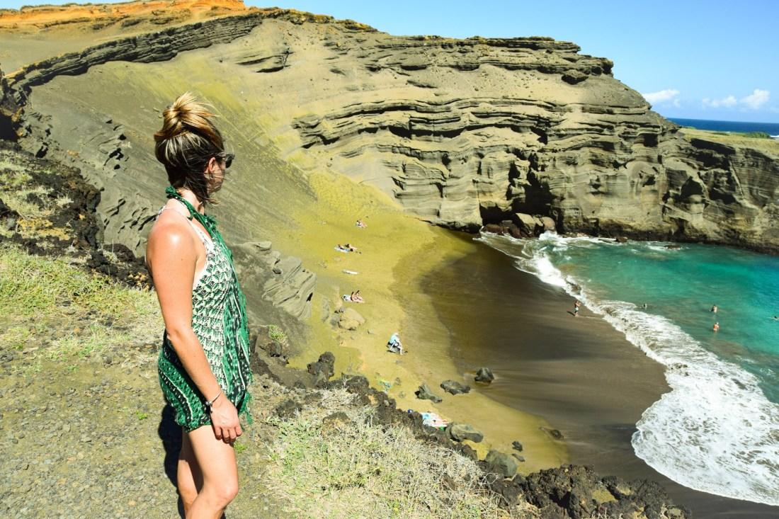 playa arena verde Big Island Hawaii