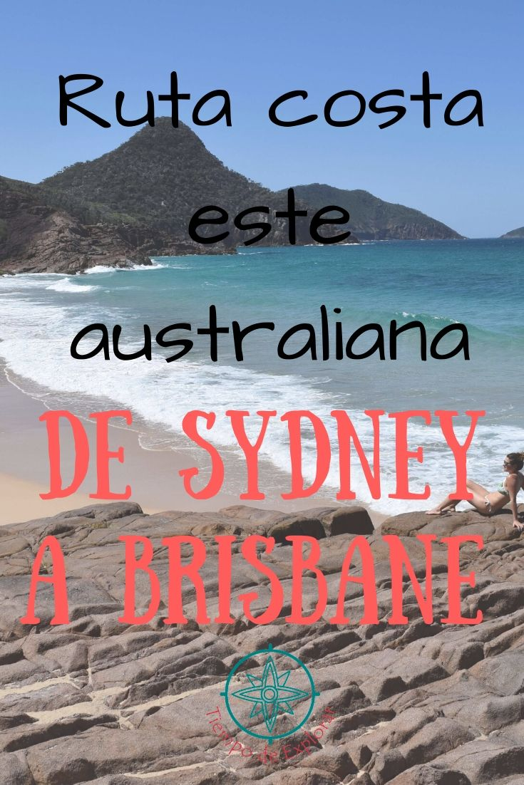 De Sydney a Brisbane Ruta Costera