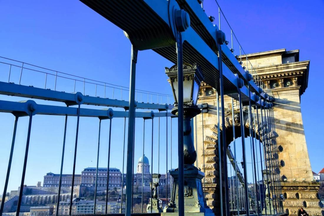 Puente de las Cadenas Que ver en Budapest en 4 días