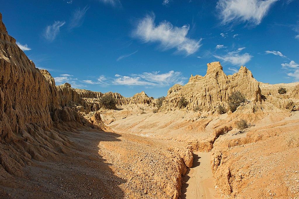 Parque Nacional Mungo Australia