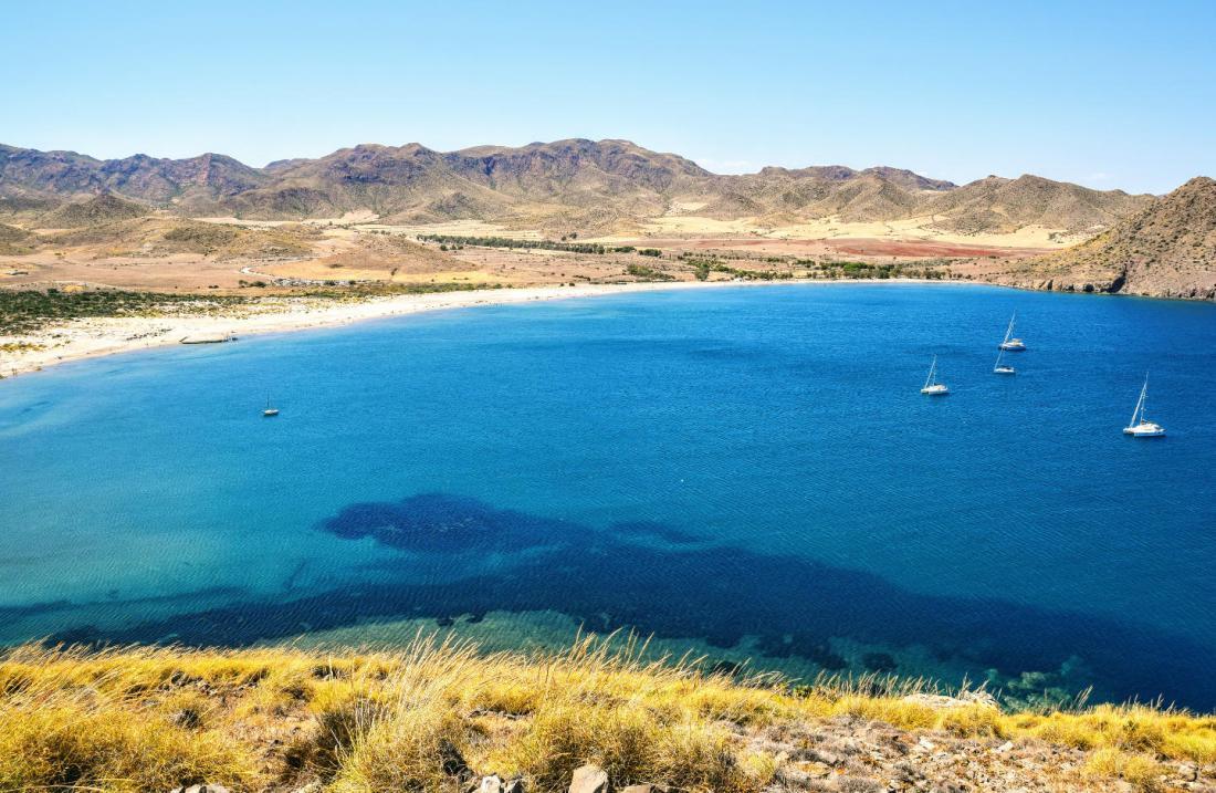 Playa de los Genoveses en Cabo de Gata Almería