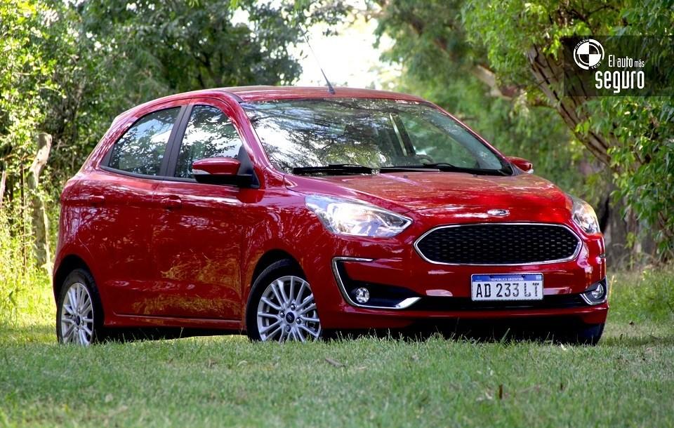 Ford Ka Es El Auto De Oro Mas Chico Y Seguro De Argentina