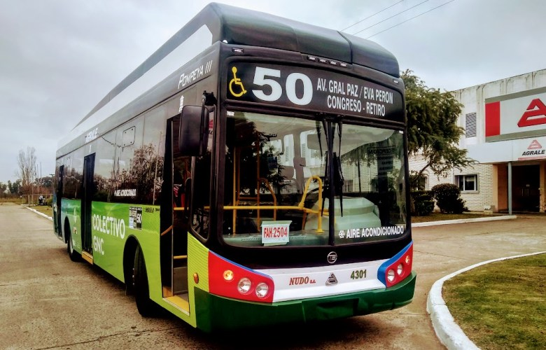 Agrale Bus Urbano a GNC