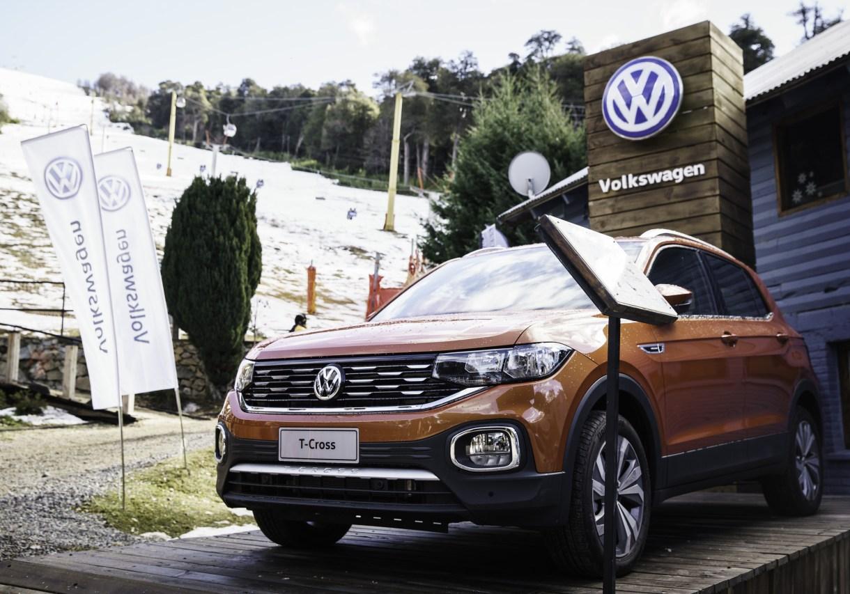 VW T-Cross en Cerro Bayo